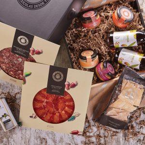 Box L Ibérico Extremeño. Productos gourmet de alta calidad.